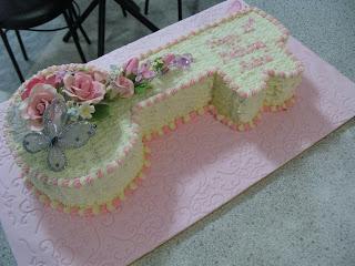 Our Sugar Shack Key Shaped Cake 21st Birthday