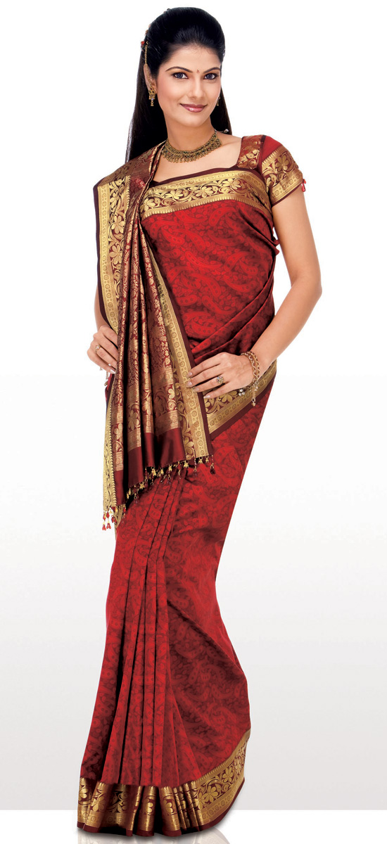 My First Time Wearing A Sari