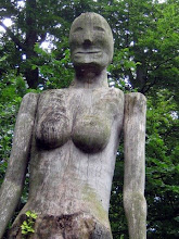 The Wood Lady at Cherry Hinton Hall Cambridge
