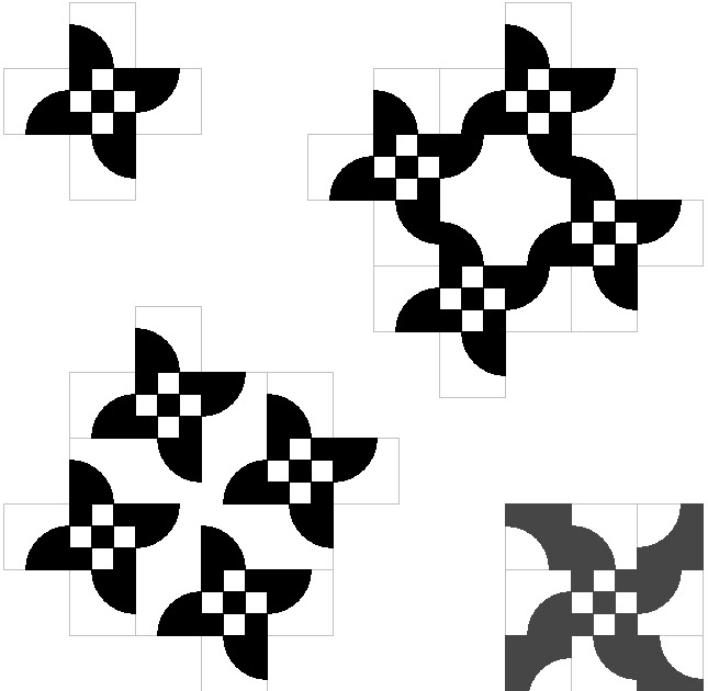Wayne Kollinger's Sketch Book: Paired Blocks #2