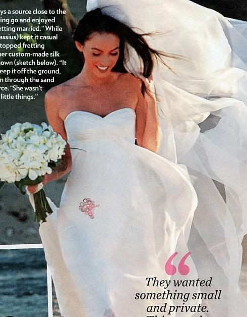 uniQuePic: Megan Fox's Wedding Pictures