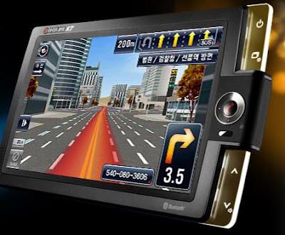 """Novo GPS Coreano em """"Verdadeiro"""" 3D. Fantástico!"""