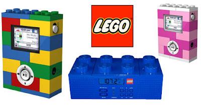Lego Apresenta: Boombox e MP3 Player!