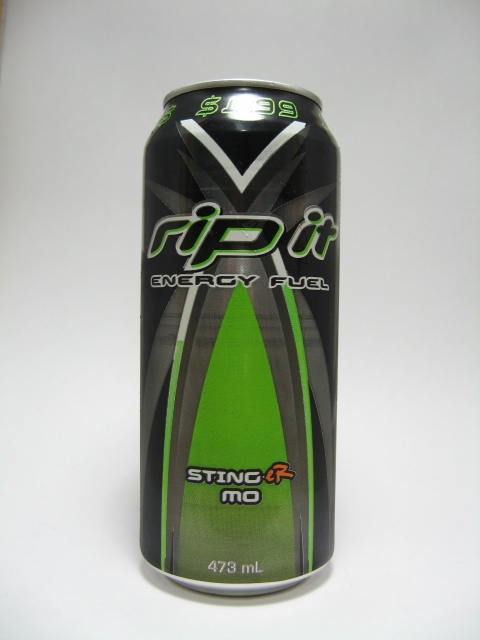 What I Drink At Work: Rip It Energy Fuel Sting-er Mo Review