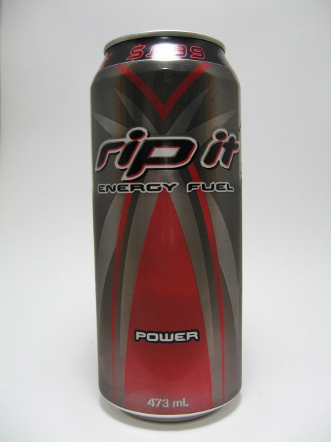 What I Drink At Work: Rip It Energy Fuel Power Review