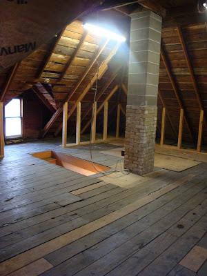 Third Floor Attic Remodel Demo Electrical New Windows