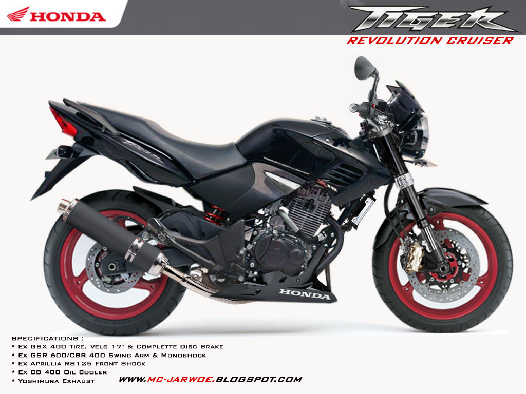 Spesifikasi New Honda Tiger Revo