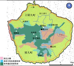 Map of Yakushima