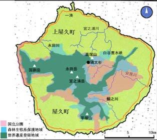 Map of Yakushima