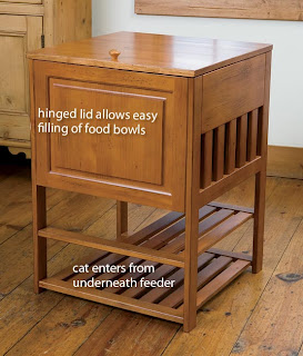 Just Found This Dog Proof Cat Feeder Cat Feeding Station