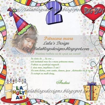 invitatie la ziua de nastere scrisoare Lala's design: Invitatie la ziua de nastere invitatie la ziua de nastere scrisoare