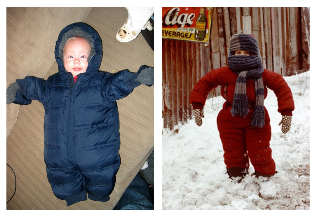 A Christmas Story Kid In Snowsuit.Christmas Story Snowsuit Gift