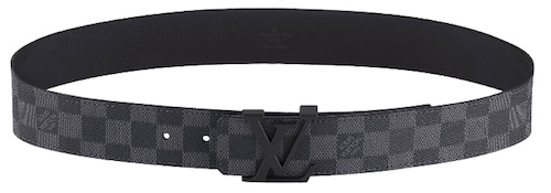 10bb6c4f7936 ... a Louis Vuitton Initiales Damier Graphite belt ( 420) under his shirt.  Romeo then finished off the outfit with a pair of black Louis Vuitton Tower  ...