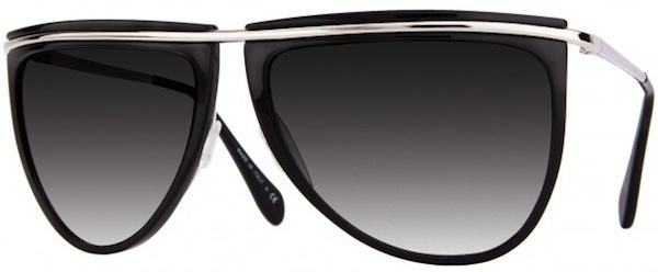 73e040563631 These limited edition unisex sunglasses were created from a Balmain  collaboration with Oliver Peoples. The sunglasses feature an exaggerated  teardrop lens ...