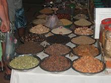 Kryddförsäljning i Goa