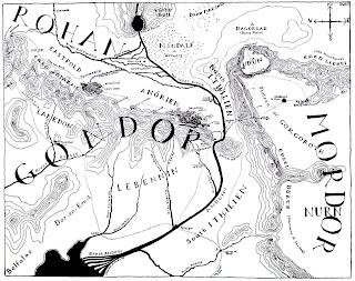 Mapa de Gondor