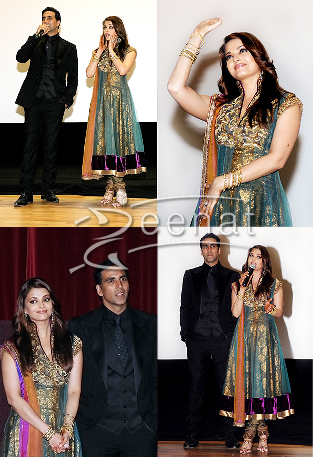 2e35c2c4b Aishwarya Rai in Anarkali Churidar - Fashion Designer Outfits
