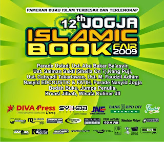JADWAL ACARA 12TH JOGJA ISLAMIC BOOK FAIR 2009