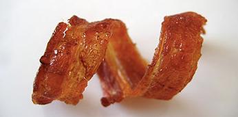 朝食革命!スパイラル・ベーコン(bacon curls) + monogocoro