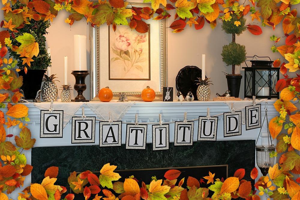 Thanksgiving Gratitude Banner Grateful Prayer Thankful Heart