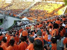Celebração no Pacaembu reuniu 30 mil pelos 100 anos da Arquidiocese de São Paulo