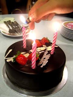 Cheating Birthday Cake