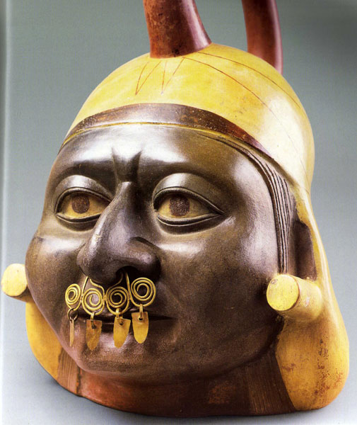 Nose Ornament - Peru 390-450