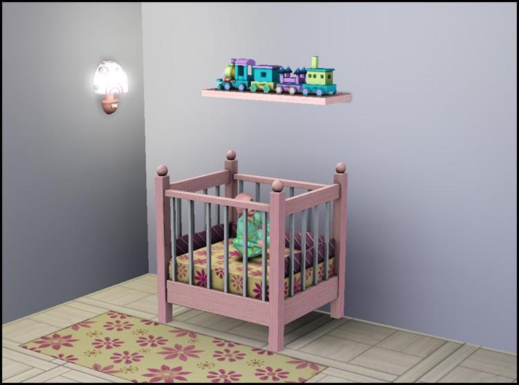 My Sims 3 Blog Quot Little Sister Quot Crib 1 Tile By Hugelunatic