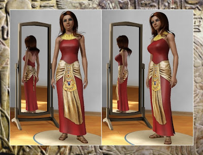 my sims 3 blog cleopatra clothing by moschino k at tsr. Black Bedroom Furniture Sets. Home Design Ideas