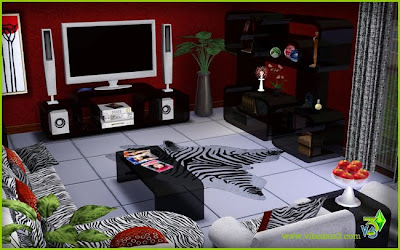 My Sims 3 Blog: Jefferson Living Room Set at Vita Sims