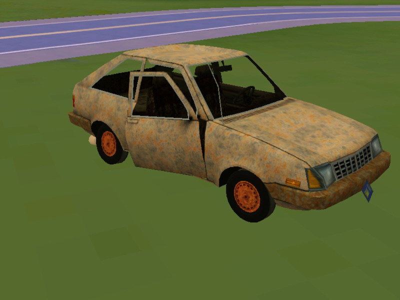 My Sims 3 Blog The Junkyard Dawg Really Junky Car
