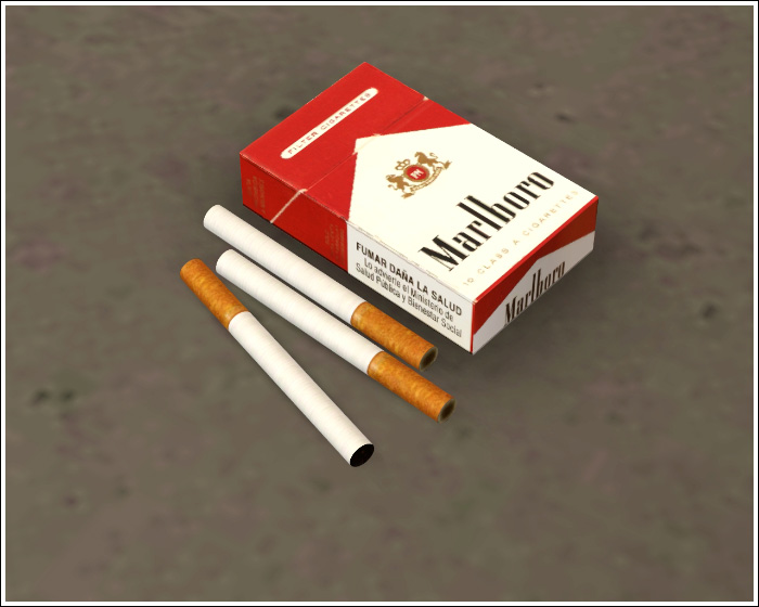 The Sims 3 Cigarette Smoking Models - poksemerald