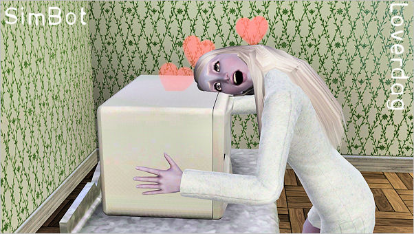 My Sims 3 Blog: Simbot Solviga by Loverdag