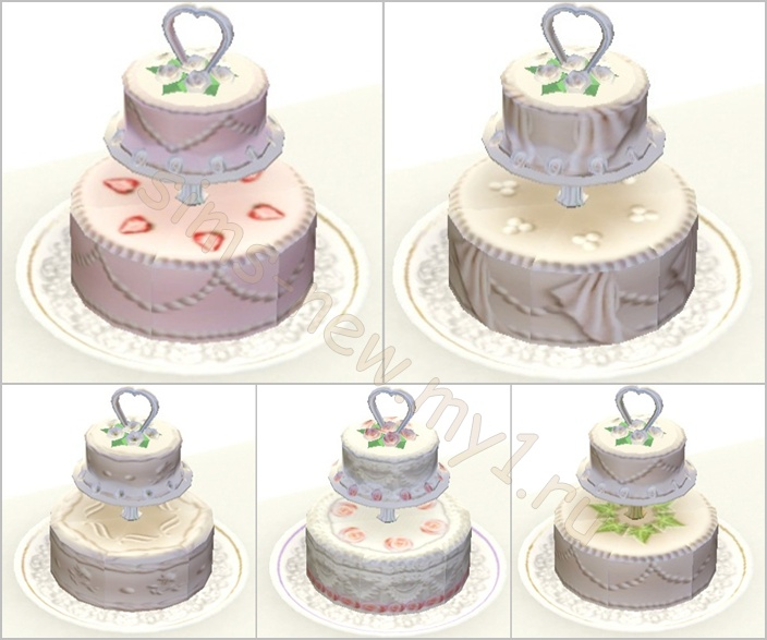 My Sims 3 Blog: Mini Wedding Set By Helen