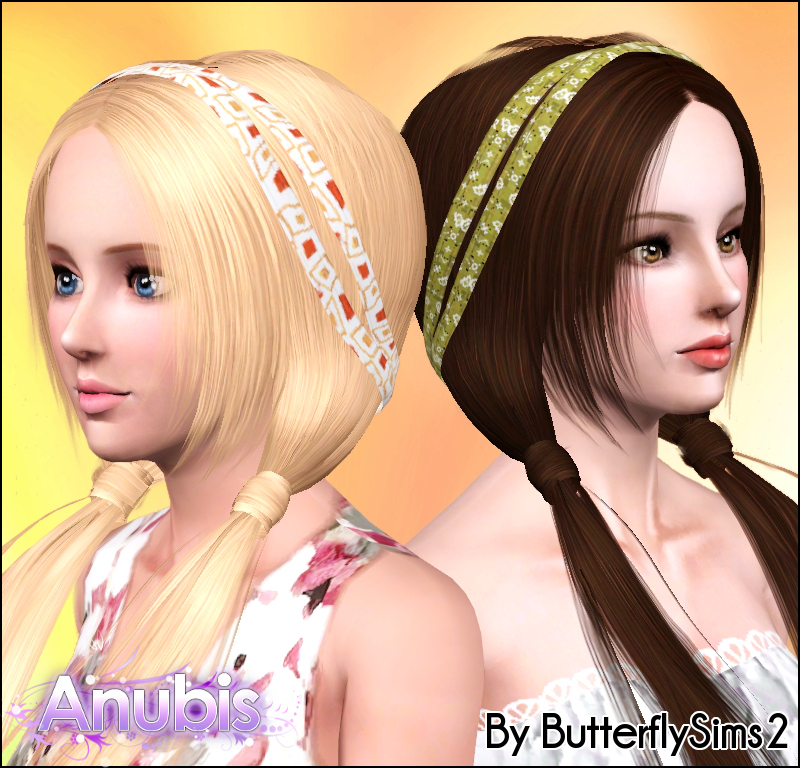 Sims 2 Hairstyles: My Sims 3 Blog: Butterfly Sims2 Hair 004