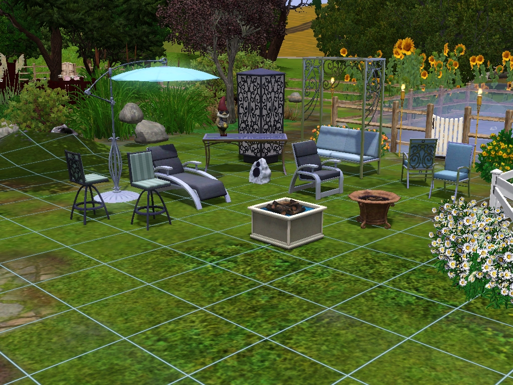 My Sims 3 Blog: New Sims 3 Outdoor Living Stuff Screens