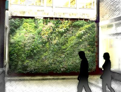 Cuaderno de campo y taller jardines verticales naturales for Muros y fachadas verdes jardines verticales