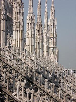 The Roof Of Il Duomo Di Milano