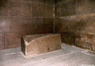 Inside the great pyramid of Khufu