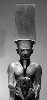 Horemheb with Amun