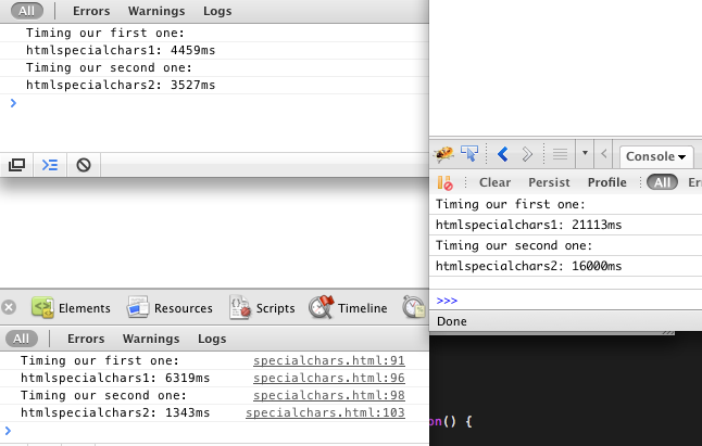 Jamund's Coding Blog: Regex beats For loop for JavaScript search and