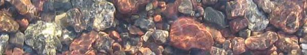 Stenar i vatten...