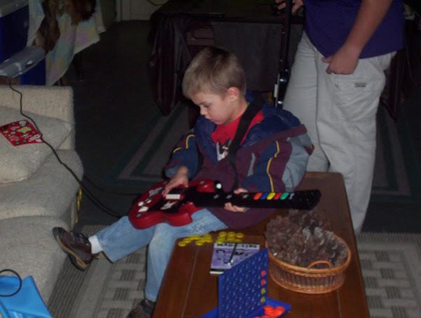 Gage the guitar hero!