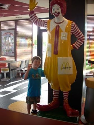 Youngest and the Big Mac