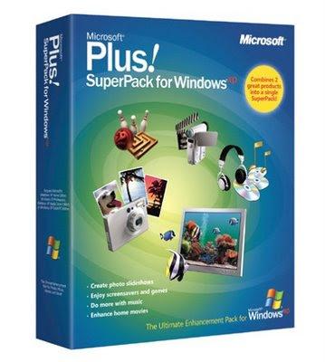 Microsoft Plus! SuperPack p/ Windows XP (Oficial) Baixar