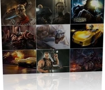 Download Wallpapers Games 2008 Games