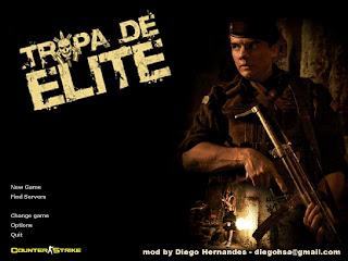 tropa001aw7 Skin Tropa de Elite p/ Counter Strike 1.6
