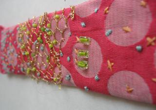 Pink PP Cuff Bracelet