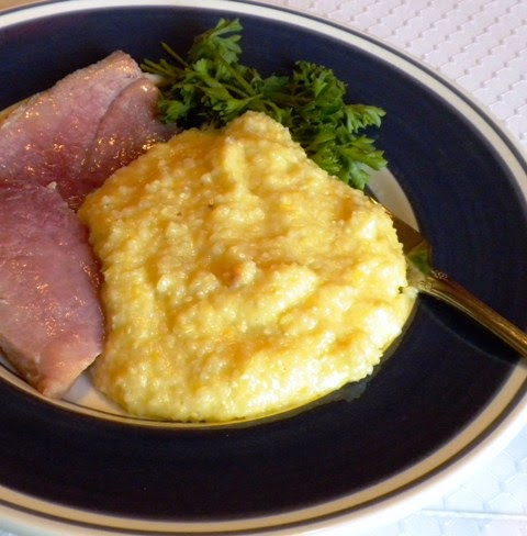 Pam's Midwest Kitchen Korner: Stone-Ground Garlic Grits ...