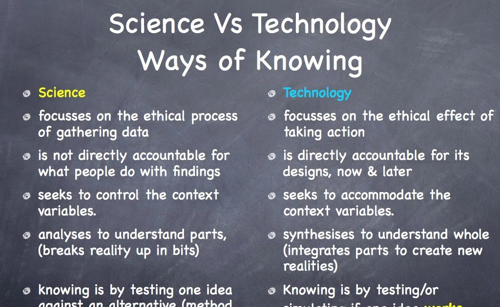 Meta- Technacy On the \u0027science and technology\u0027 problem and the